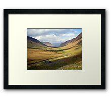 Newlands Valley Framed Print