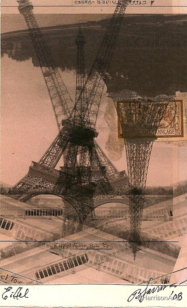 Eiffel x4 by BHarrisonArts