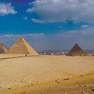 The Three Pyramids by shanmclean