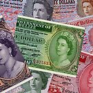 Old Banknotes From Belize by Robert Abraham