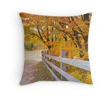 Fall at Deadmans' Hill Throw Pillow