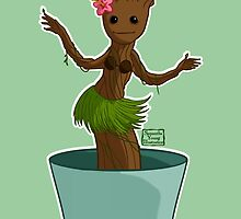 Hula Groot by Samantha Young