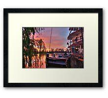 Ps Marion at Sunrise Framed Print