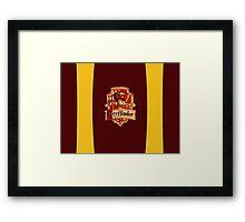 Gryffindor Pride Framed Print
