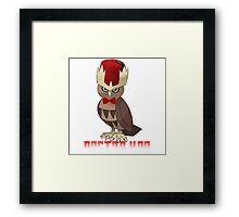 Doctor Hoo Framed Print