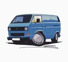 VW T25 Transporter Van Blue Kids Clothes
