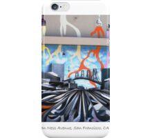 Painting on Van Ness iPhone Case/Skin