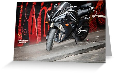 graffiti bike by Rosina  Lamberti