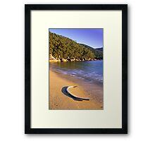 Refuge Coves Whaling Past Framed Print