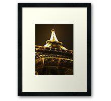 Eiffel Tower, Paris France Framed Print