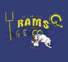 Los Angeles Rams by josiahpapaya