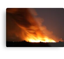 Now That's a Fire!  Metal Print