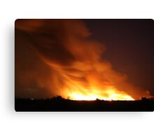 Now That's a Fire!  Canvas Print