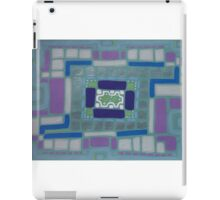 City Buildings as Archaeology Sketches iPad Case/Skin