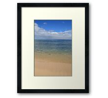 Calm Waters Framed Print