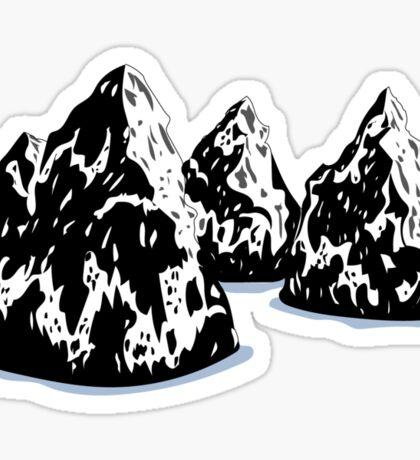 Drifting Landscape Sticker