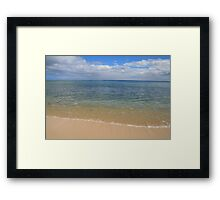 Calm Waters 2 Framed Print