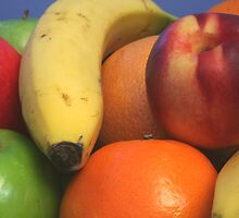 Pile of Fruit by Stephen Thomas