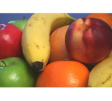 Pile of Fruit Photographic Print