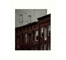 Jamestown Red Bricks Art Print
