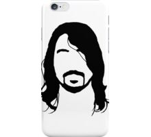 Dave Grohl's Beard Silhouette iPhone Case/Skin