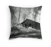 Moss and an Old Manse Throw Pillow