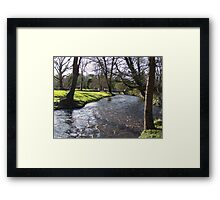 Blarney Castle - River Framed Print