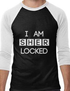 Sherlocked Men's Baseball ¾ T-Shirt