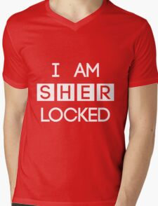 Sherlocked Mens V-Neck T-Shirt