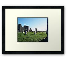 Clonmacnoise - on the Shannon River Framed Print