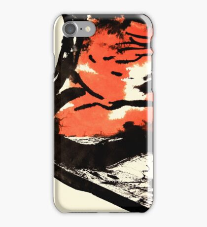 ship going down.... row! row! row your boat! iPhone Case/Skin