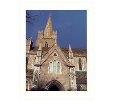 St Pat's Cathedral Art Print