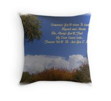 Just You & Me Throw Pillow