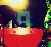 vinos y birras (bowl) 2 by Ashley Justiniano