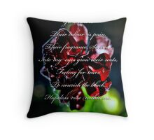 Spike Milligans Poem, Oberon Throw Pillow