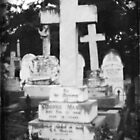 Graveyard Adornment #51 - Pinhole Photography on DSLR by Malcolm Heberle