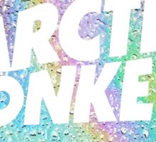 arctic monkeys oil spill circle logo Sticker