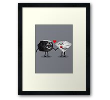 Carbon Dating Framed Print