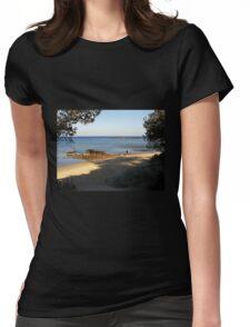 Quiet Corner  Black Rock  Victoria  Australia Womens Fitted T-Shirt