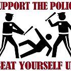 Support the Police by tinaodarby