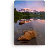 Red Mountain Dawn Metal Print
