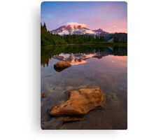 Red Mountain Dawn Canvas Print
