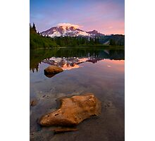 Red Mountain Dawn Photographic Print