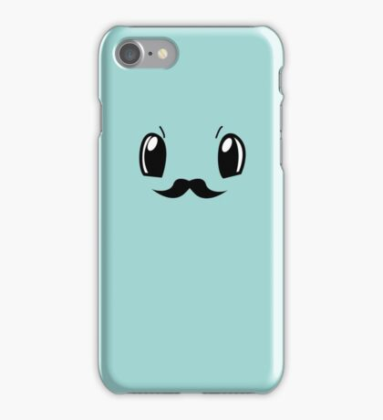 Squirtlestache Face iPhone Case/Skin