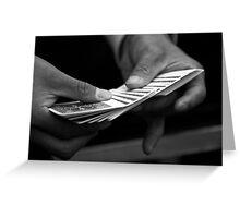 The magic trick part 1 Greeting Card