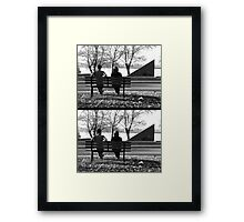 And the slience, it was deafening Framed Print