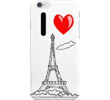 I LOVE PARIS iPhone Case/Skin