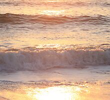Sunrise Waves by Nadine Rippelmeyer