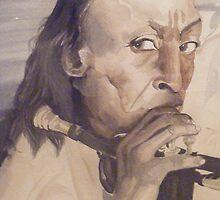 Miles Davis by Sandra Gray