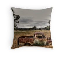 Good home wanted Throw Pillow